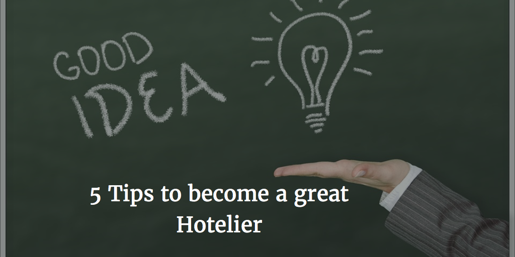how to become a hotelier